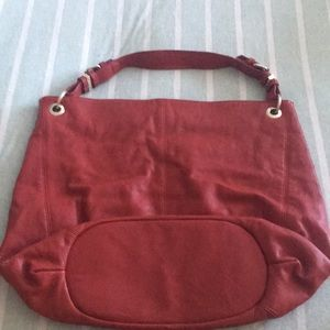Red Zara handbag
